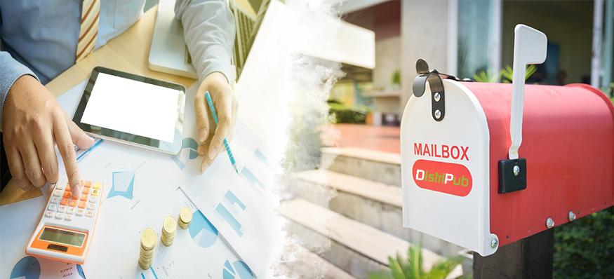 Distribution de prospectus en boite aux lettres pas cher